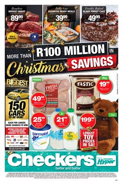 Checkers Hyper deals in the Brackenfell special