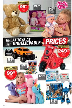 Toys offers in the Checkers Hyper catalogue in Cape Town