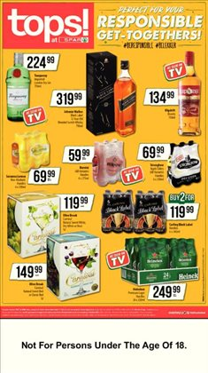 Spar Tops catalogue ( 3 days left )