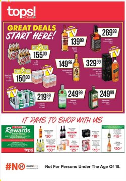 Spar Tops offers in the Spar Tops catalogue ( Expired)