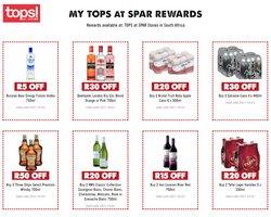 Spar Tops catalogue ( 8 days left)