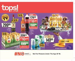 Groceries offers in the Spar Tops catalogue ( 7 days left)