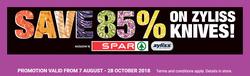 Spar Tops deals in the Pretoria special
