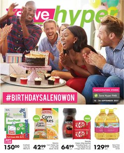 Groceries offers in the Save Hyper catalogue ( Expires tomorrow)