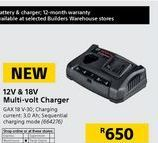 Chargers Bosch offer at