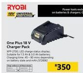 Chargers ryobi offer at