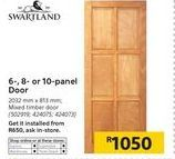 Doors offer at R 1050