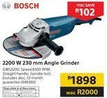 Grinder Bosch offer at R 1898