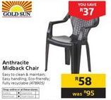 Chairs offer at R 58