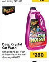 Deep Crystal Car Wash offer at R 280