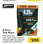 4.26 m Tow Rope offer at R 200