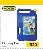 25L Jerry Can offer at R 320
