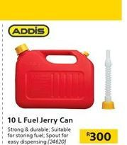10L Fuel Jerry Can offer at R 300