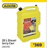 25L Diesel Jerry Can offer at R 369