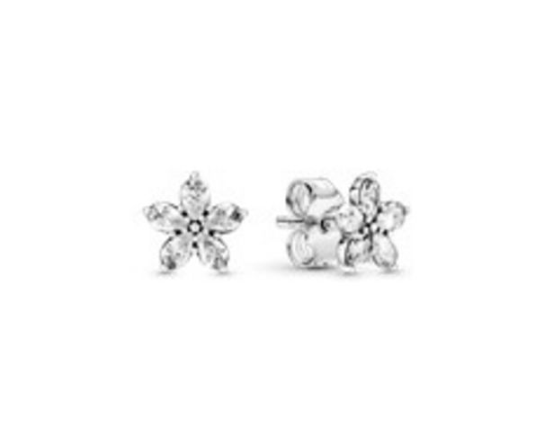 Sparkling Snowflake Stud Earrings offers at R 979