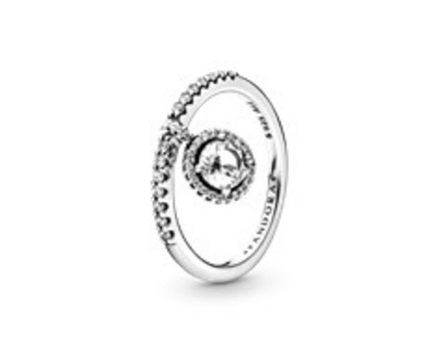 Clear Dangling Round Sparkle Ring offers at R 1399
