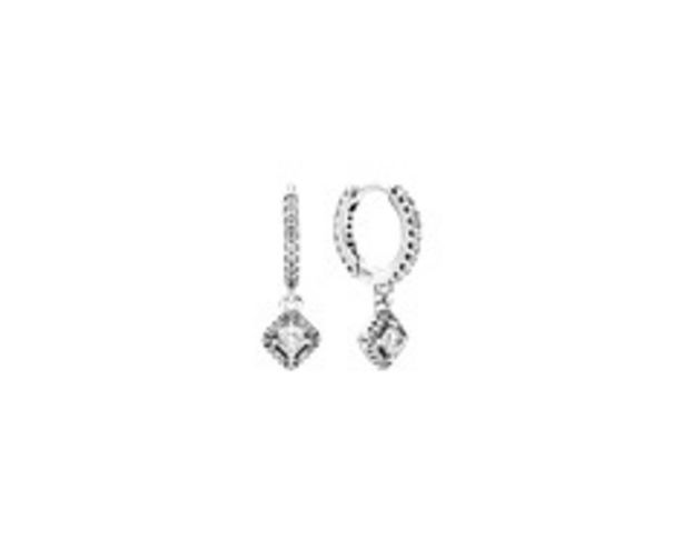 Square Sparkle Hoop Earrings offer at R 1599