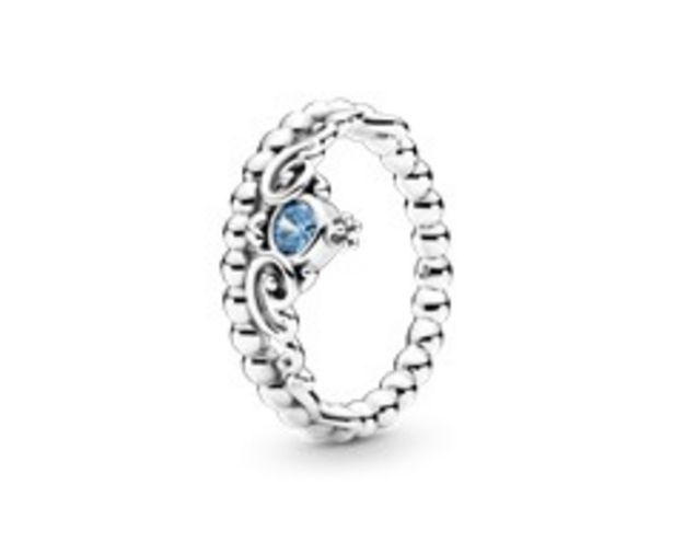 Disney Cinderella Blue Tiara Ring offer at R 1199