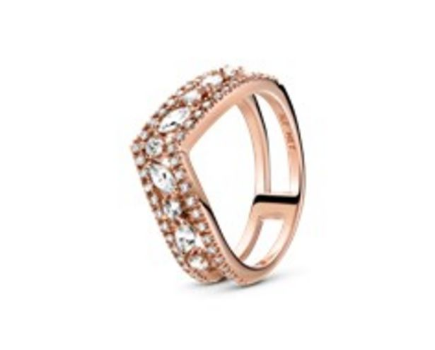 Sparkling Marquise Double Wishbone Ring offer at R 2399