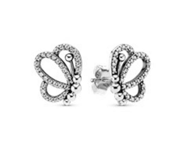 Sparkling Openwork Butterfly Stud Earrings offer at R 1199