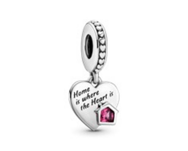 Love My Home Heart Dangle Charm offers at R 699