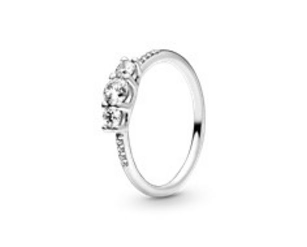 Clear Three-Stone Ring offer at R 1199