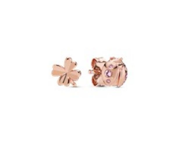 Clover & Ladybird Stud Earrings offers at R 979