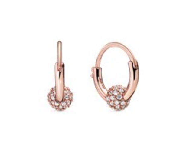 Pavé Bead Hoop Earrings offer at R 1399