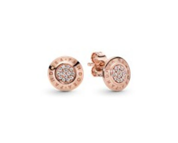 PANDORA Rose stud earrings with clear cubic zirconia offer at R 1399