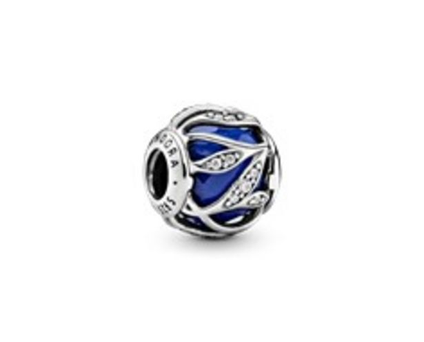 Royal Blue Abstract Leaves Charm offer at R 1299
