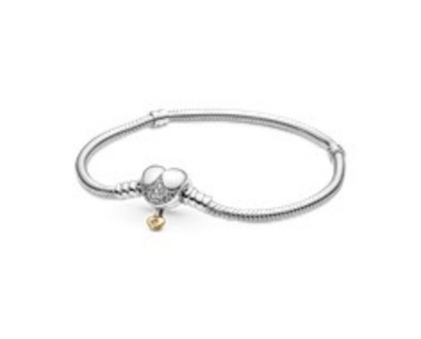 Disney Princess Pandora Moments Heart Snake Chain Bracelet offers at R 1779
