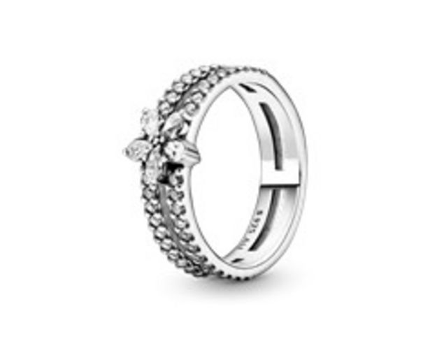 Sparkling Snowflake Double Ring offers at R 1779