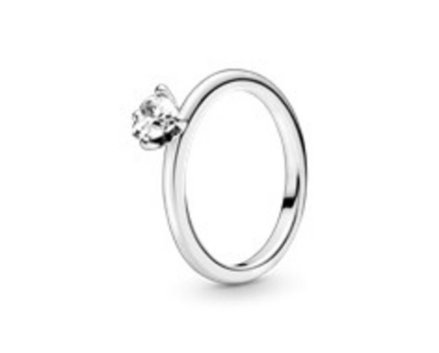 Clear Heart Solitaire Ring offer at R 899