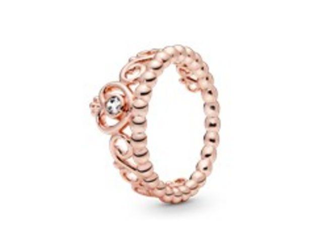 Princess Tiara Crown Ring offers at R 1399