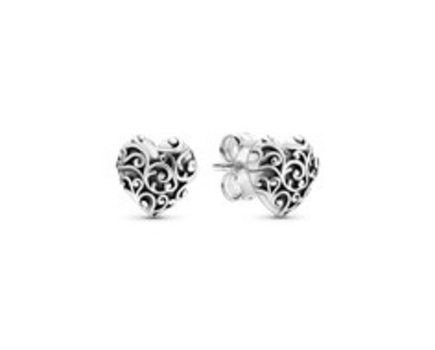 Regal Heart Stud Earrings offer at R 779