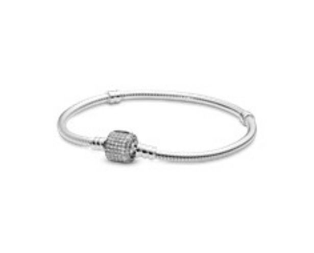 Silver bracelet with clear cubic zirconia offers at R 1499