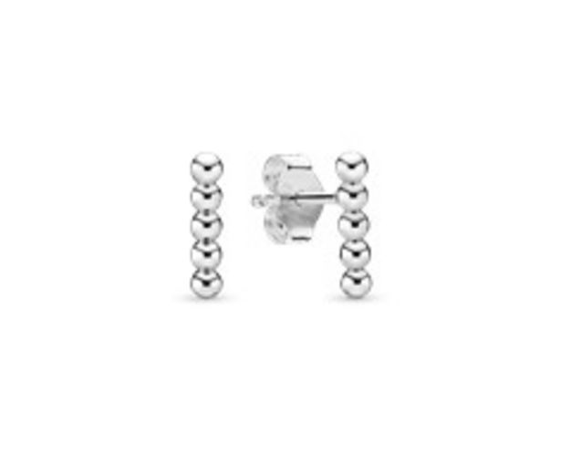 Row of Beads Stud Earrings offers at R 779