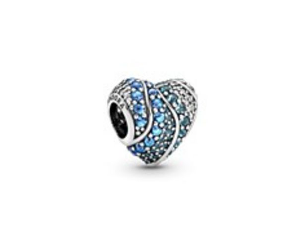 Blue Water Heart Charm offer at R 1299