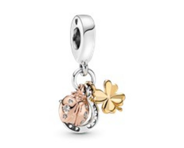 Horseshoe, Clover & Ladybird Dangle Charm offer at R 1199