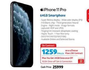 IPhone 11 64GB Smartphone offer at R 1259