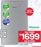 Fridge freezer Hisense offer at R 1699