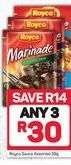 Saucers Royco 3 offer at R 30