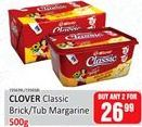 Margarine Clover offer at R 26,99