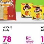 Ricoffy Nescafe offer at R 78