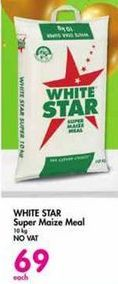 White Star Super Maize Meal offer at R 69