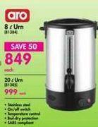 ARO 8 l Urn offer at R 849