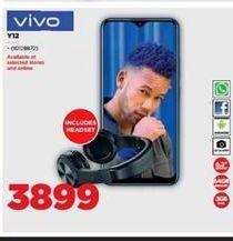 Vivo Y12 offer at R 3899