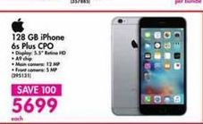 IPhone 6s Plus 128GB offer at R 5699