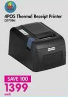 Thermal Receipt Printer offer at R 1399
