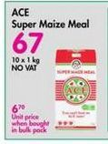 Ace Super Maize Meal offer at R 67